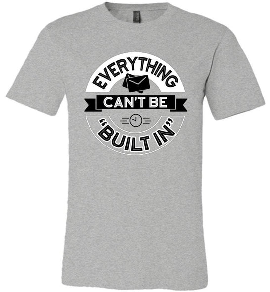 Postal Worker Tees Unisex Tshirt Athletic Heather / S Rural Carrier Everything can't be built in Tshirt