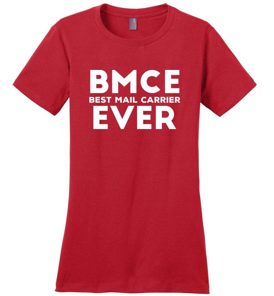 Postal Worker Tees Women's Red / S BMCE - Best Mail Carrier ever Women's Tshirt