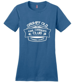 Postal Worker Tees Women's Maritime Blue / S Grumpy old mail carriers club Women's Tshirt