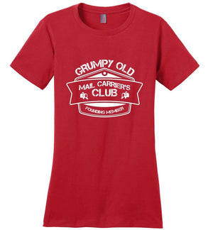 Postal Worker Tees Women's Red / S Grumpy old mail carriers club Women's Tshirt