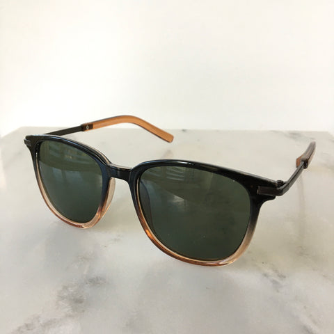 True Friend Sunglasses - Black/Amber