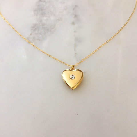 Elaina Locket Necklace
