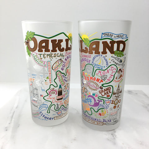 Oakland Drinking Glass