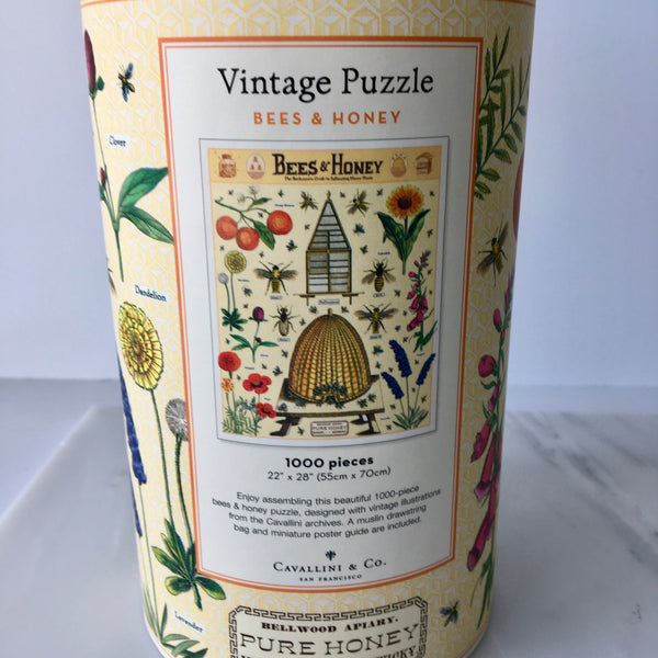 1000 Piece Vintage Puzzle - Bees & Honey