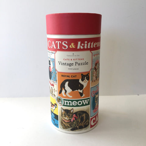 1000 Piece Vintage Puzzle - Cats & Kittens