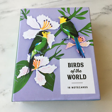 Birds of the World Notecard Set
