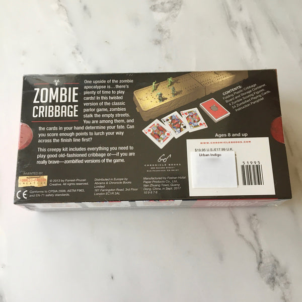 Zombie Cribbage Game