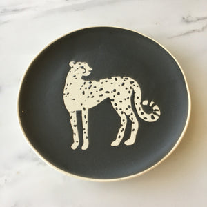 Cheetah Trinket Tray