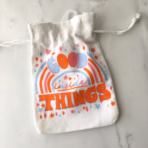 Good Things Drawstring Pouch