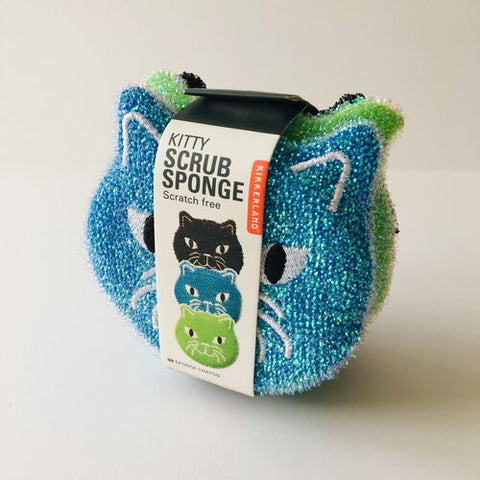 Kitty Scrub Sponges