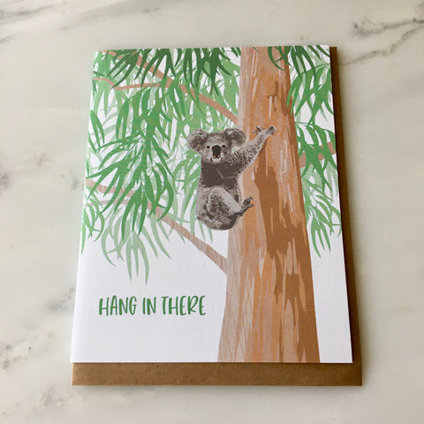 Hang in There Koala