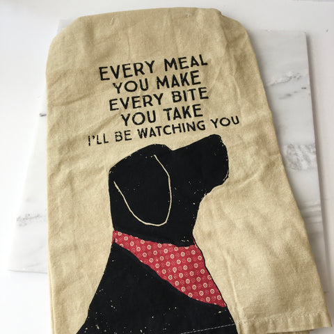 'Every Meal You Make' Tea Towel