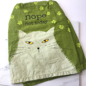 'Nope Not Today' Tea Towels