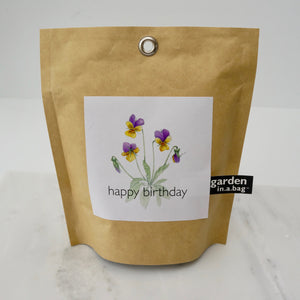 Garden in a Bag - Happy Birthday