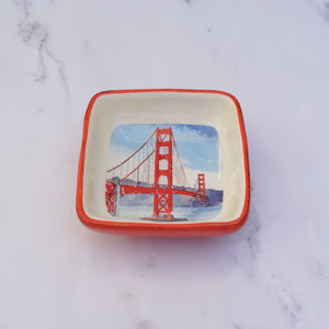 Golden Gate Bridge Trinket Dish