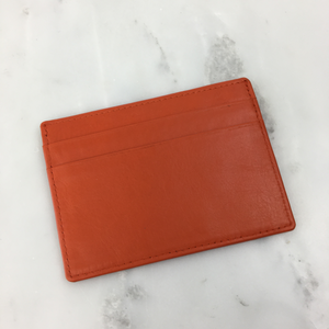 ID and Credit Card Holder - Orange