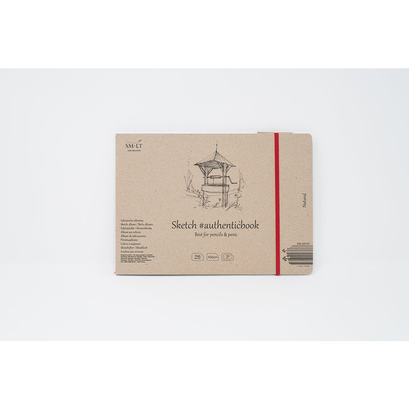 SM-LT Stitched Sketch Album Natural #authenticbook. - SM-LT -  L.S.F. Group of Companies