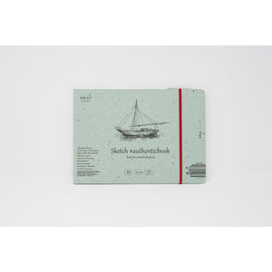 SM-LT Stitched Sketch Album White #authenticbook. - SM-LT -  L.S.F. Group of Companies