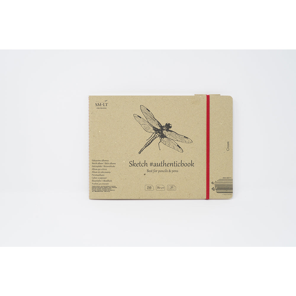 SM-LT Stitched Sketch Album Cream #authenticbook. - SM-LT -  L.S.F. Group of Companies