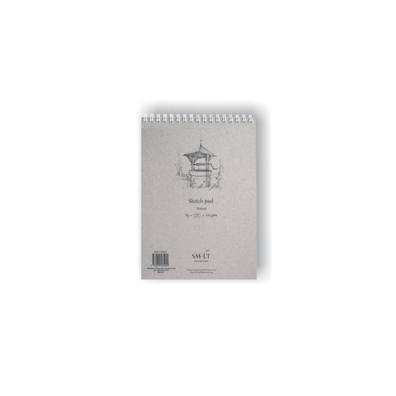 SM-LT Spiral Sketch Pad Authentic Natural - SM-LT -  L.S.F. Group of Companies