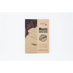 "SM-LT Music Notes Book ""Platinum"" ""SMLT"" - SM-LT -  L.S.F. Group of Companies"