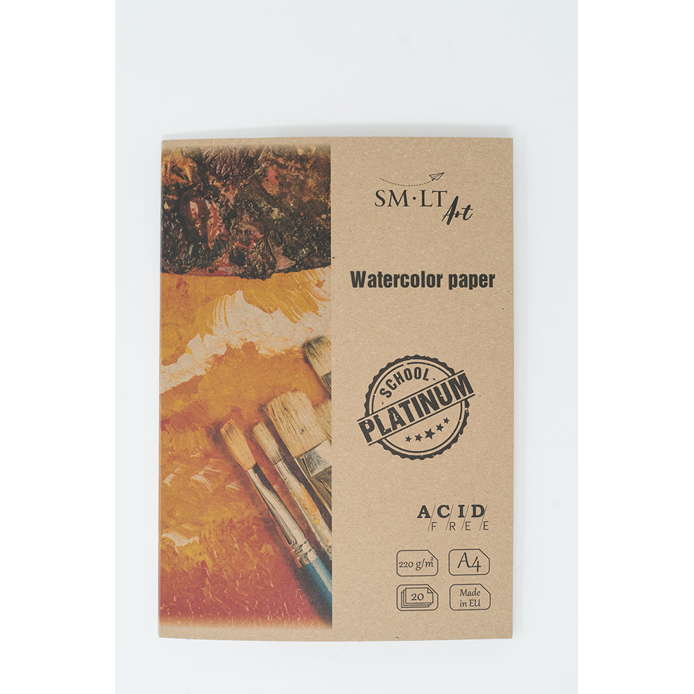 "SM-LT Watercolour Paper ""Platinum"" in folder ""SMLT"" - SM-LT -  L.S.F. Group of Companies"