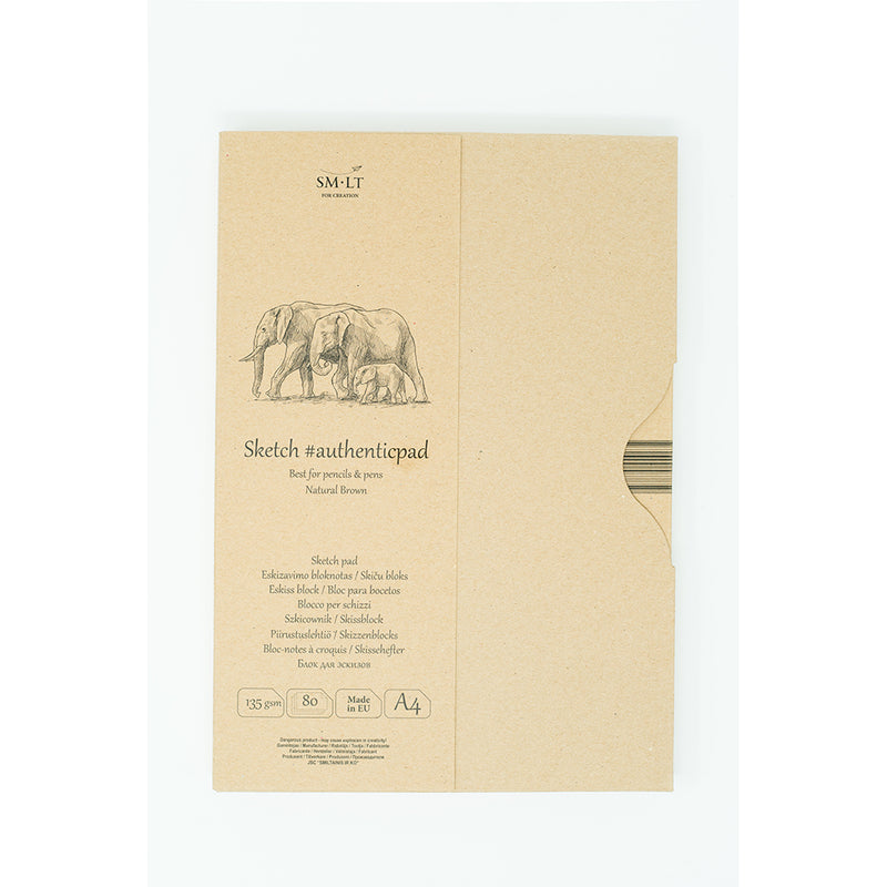 SM-LT Sketch Pad Authentic Brown in Folder - SM-LT -  L.S.F. Group of Companies