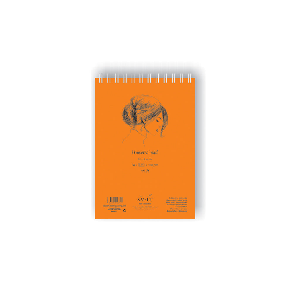 SM-LT Spiral Mixed Media Pad Authentic - SM-LT -  L.S.F. Group of Companies