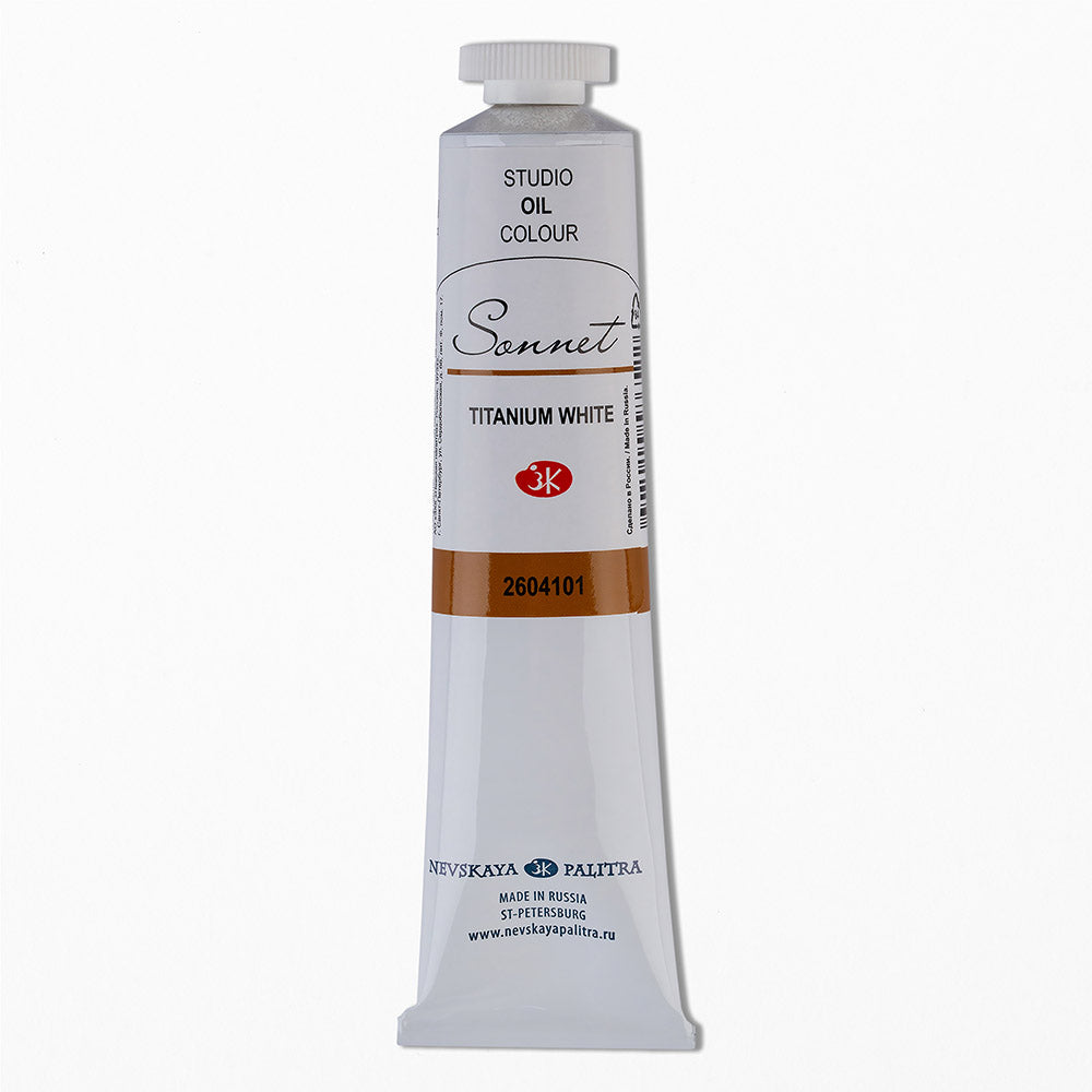 "Nevskaya Palitra ""Sonnet"" Oil Paints Tube 46ml"