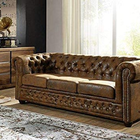 canapé chesterfield pas cher