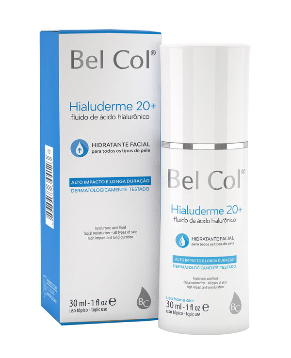 Hialuderme 20+ Hyaluronic Acid Fluid - 30ml