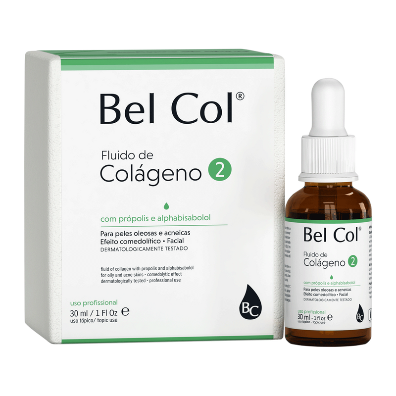 Bel Col 2 - Collagen for Oily Skin - 30ml