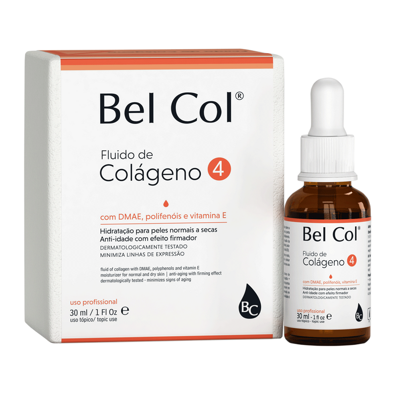 Bel Col 4 - Collagen for Dry Skin - 30ml
