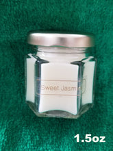 Load image into Gallery viewer, Sweet Jasmine Candles Sizes 1.5oz thru 18oz
