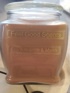 Frankincense & Myrrh Candles