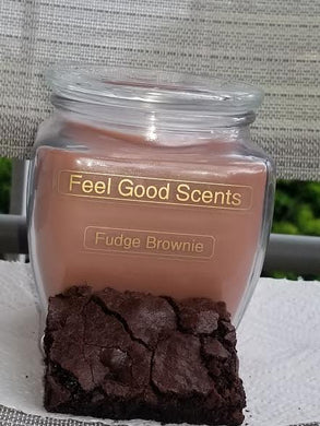 Fudge Brownie Candles