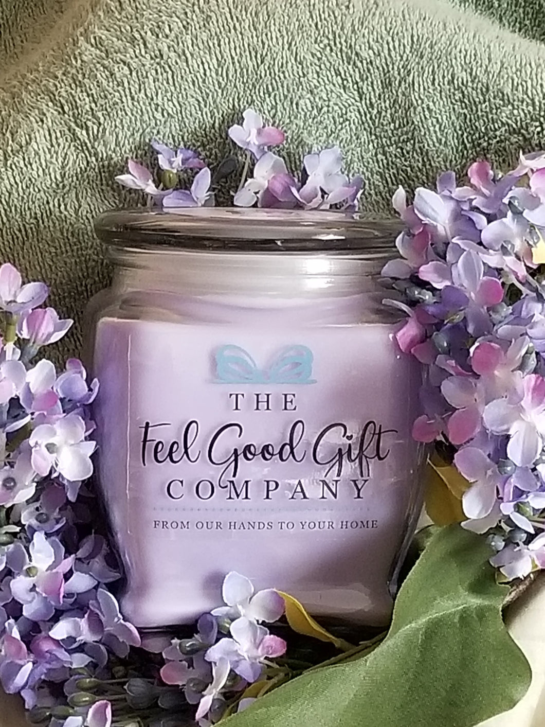 Lilac Candles