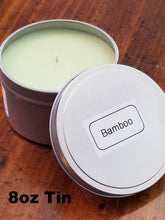 Load image into Gallery viewer, Bamboo Candles Sizes 1.5oz thru 18oz