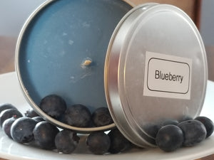 Blueberry Candles