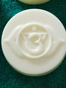 "Goats Milk Soap w/Sweet Jasmine Fragrance ""Chakras"""