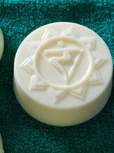 "Load image into Gallery viewer, Goats Milk Soap w/Sweet Jasmine Fragrance ""Chakras"""