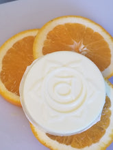 "Load image into Gallery viewer, Goats Milk Soap w/Orange Essential Oil ""Chakras"""