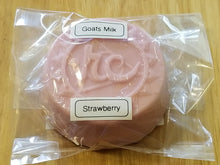 "Load image into Gallery viewer, Goats Milk Soap w/Strawberry Fragrance ""Chakras"""