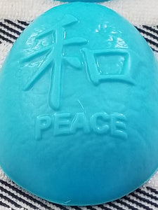 Goats Milk Soap w/Sea Breeze Fragrance Chinese Calligraphy