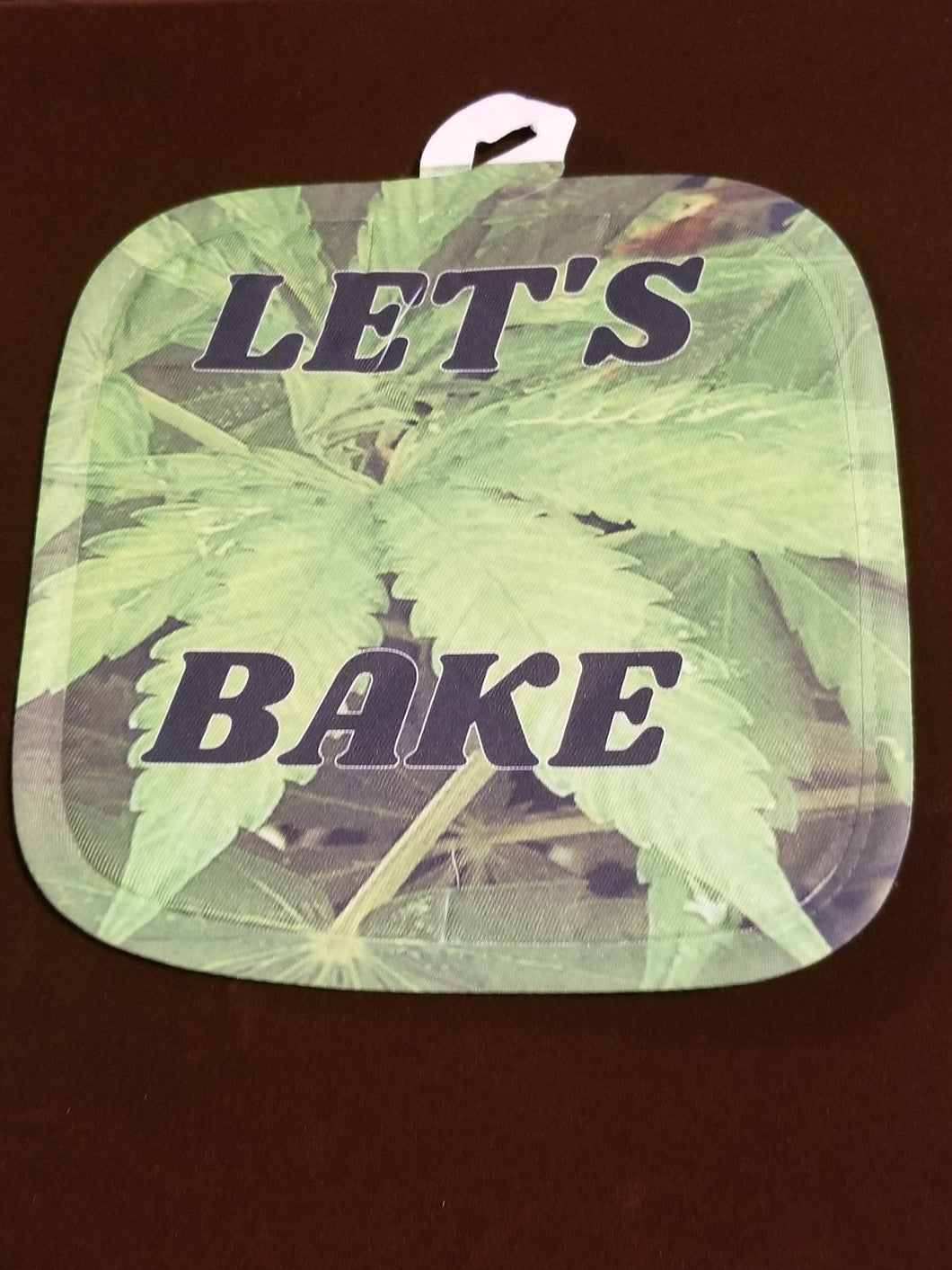 Let's Bake Pot Holder