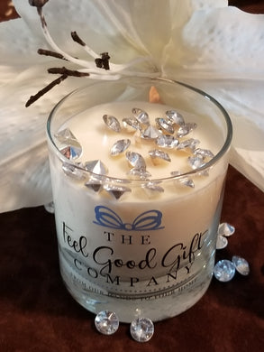 White Lily & Diamond Candles