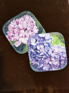 Pink & Purple Hydrangea Pot Holder Combo