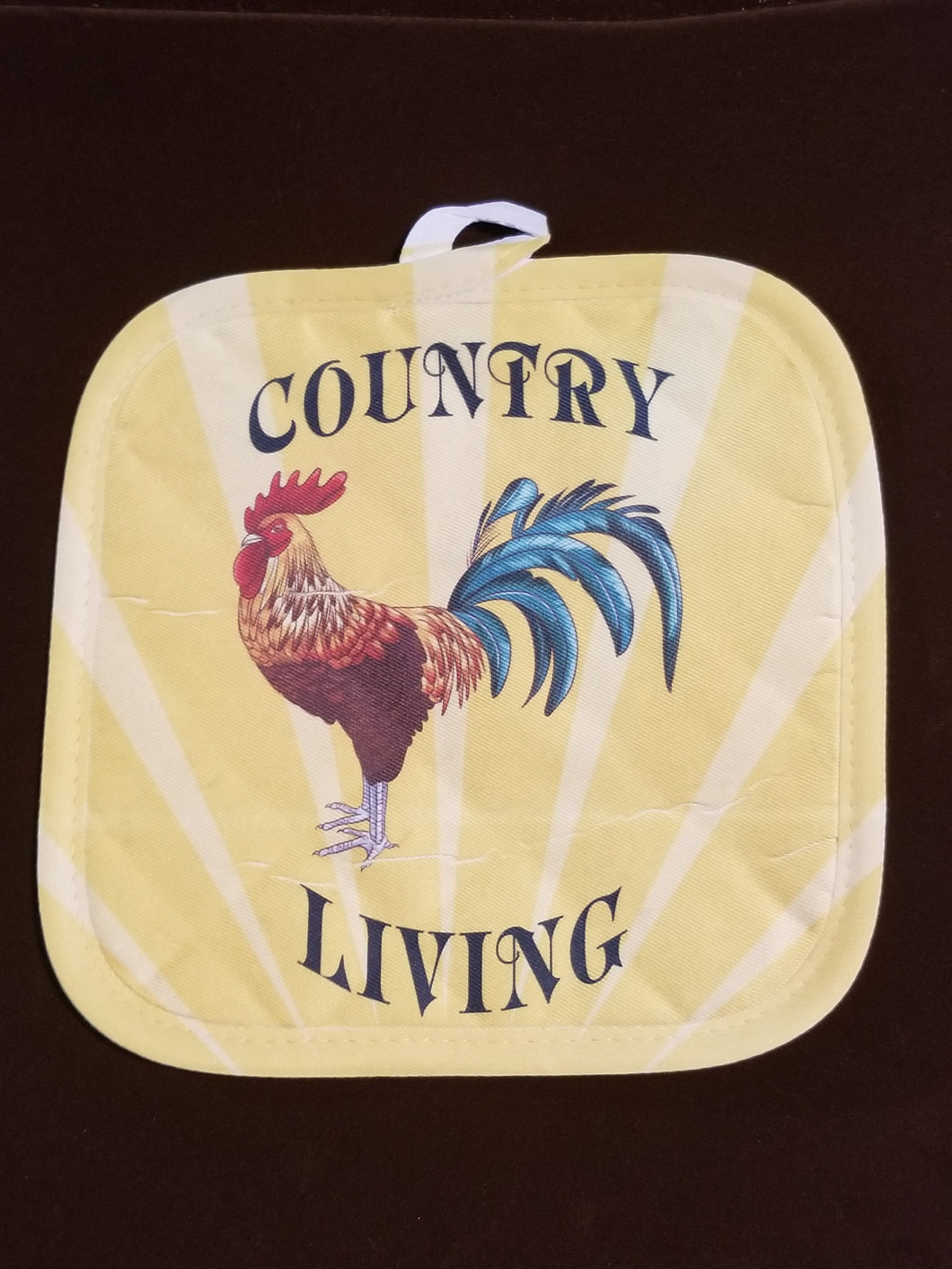 Country Living Rooster Pot Holder