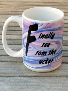 Finally Free - Divorce Mug