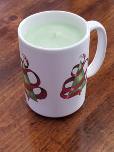 Christmas Tree Candle Mug